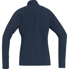GORE RUNNING WEAR Essential Thermo Longsleeve Dames, black iris/raspberry rose